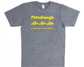 NEW: Pittsburgh Comfy Fit Tee