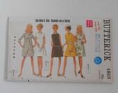 Vintage 60s A Line Dress Pattern Butterick 4818 Size 14 Bust 36  UNCUT