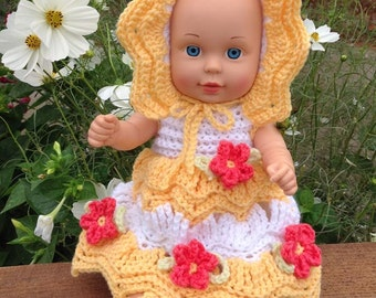 Little Miss Sunshine Crochet Pattern PDF