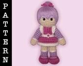 Crochet Pattern - Amigurumi Shy Violet Doll