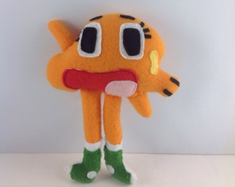 Darwin Watterson- Made To Order - Plush Toy