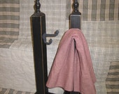 Primitive Stand with Iron Hook