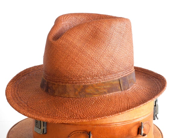 Panama Fedora Hat Straw Fedora Hat Men's Hat Spring Fashion Women's Hat Men's Summer Hat Men's Straw Hat Panama Straw Hat Panama Hat