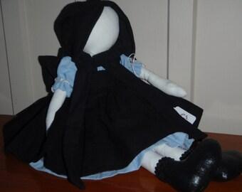 Esther - Amish rag doll