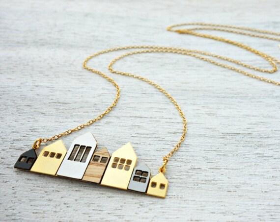 Maisons de Copenhague sautoir, collier signature, minimaliste, design scandinave
