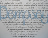 baby baptism christening dedication gift godparent Psalm 139 fearfully wonderfully made scripture nursery wall art original BeachHouseDreams