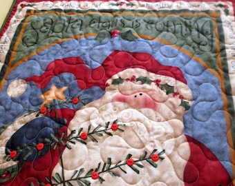Advent Calendar Santa And Christmas Tree