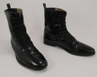 vintage land rover work boots lineman vibram soles by. Black Bedroom Furniture Sets. Home Design Ideas
