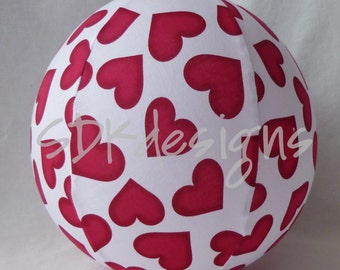 Balloon Ball - Big Red Love & Hearts - Great kids gift as seen with Michelle Obama on Parenting.com