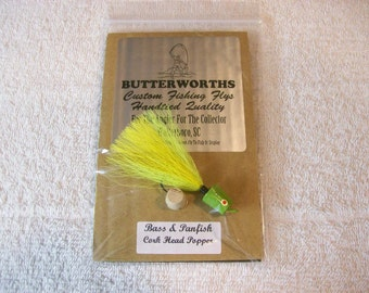 Bass Popper Fly / Lure  / Bass And Panfish / Size 2/0 / Lot 200