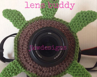 PATTERN ONLY Little Sea Turtle Lens Buddy Pattern