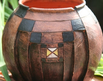 South African Clay Beer Pot