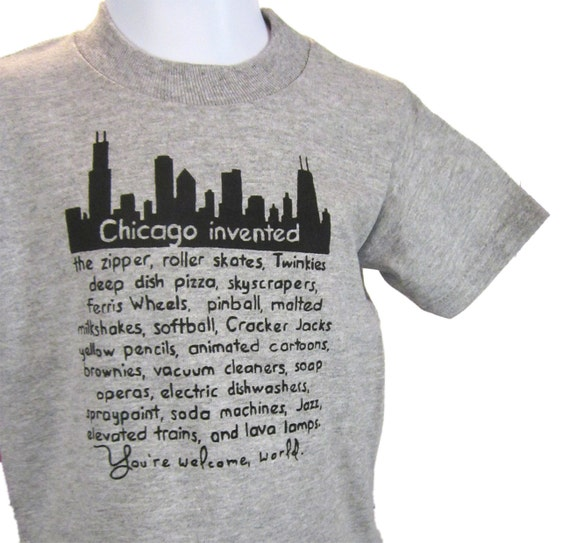 Chicago Invented Toddler Tee- Pick Your Size