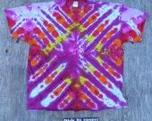 Diamondium Portal Tie Dye T-Shirt (Gildan Size XXL) (One of a Kind)