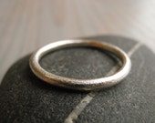 Wedding Ring, Wedding band, Minimalist Wedding Ring, Sterling Silver Wedding Ring.