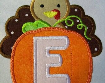 Iron On Applique - Turkey Alphabet