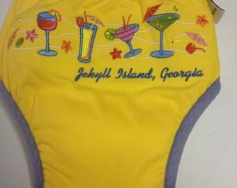 MamaBear Training Pants, one size fits most - Upcycled T-shirt - Jekyll Island Georgia