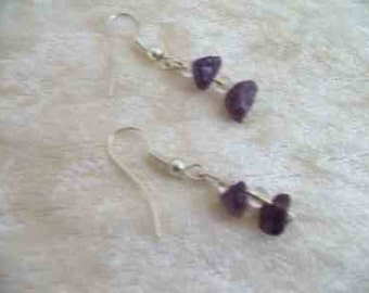 Amazonite Earrings  - Healing Crystal / Gemstone
