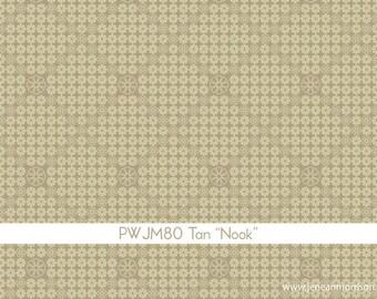 SUMMER SALE - In My Room - Nook in Tan - 1 Yard - by Jenean Morrison for Free Spirit - sku PWJM080-Tan