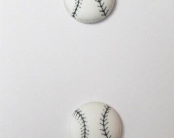 Batter Up Baseball Buttons