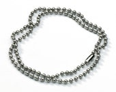 24 inch Stainless Steel Ball Chain