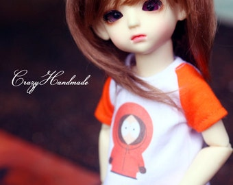 T-shirt and short pants for 1/6 bjd