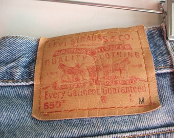 Vintage high waisted broken in Levi's/Sz 14/100% Cotton