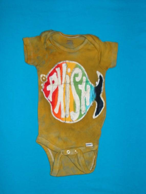 Phish Baby Onesie Tee Shirt Phans Kids Batik