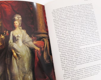 Queens of England Norah Loft Vintage Book British Royalty Royal Family Britain Illustrated Guinivere Elizabeth Anne Caroline English History