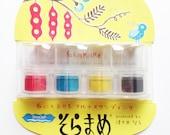 versacraft ink pads | tsukineko rubber stamp ink pad. multipurpose acid free water based pigment ink | pre-inked dauber | set of 4 | modern