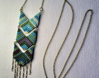 Triple Chevron Necklace - more colors!