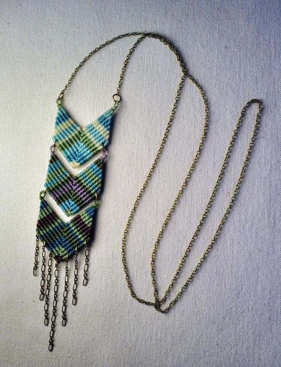 Triple Chevron Necklace - more colors!