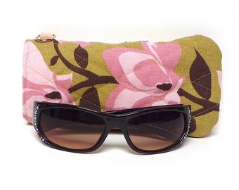 SALE Pink Sunglass case PINK LILY