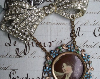 My Fair Lady - Vintage Assemblage Necklace