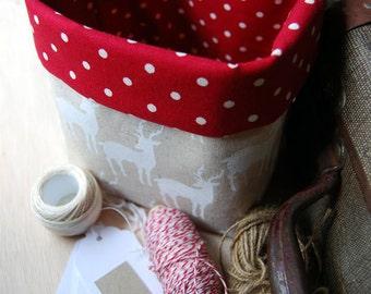 Elk Fabric Basket