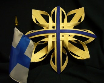 Star of Finland - Hand Woven Nordic Star