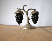vintage grape vine salt and pepper shakers