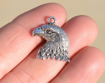 BULK 20 Silver Eagle Charms SC1322