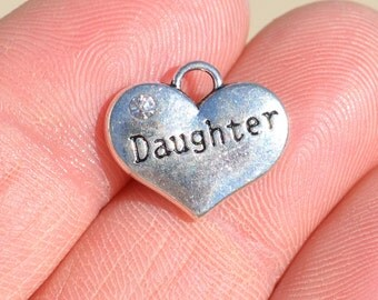 1 Silver  DAUGHTER  Charm SC1130