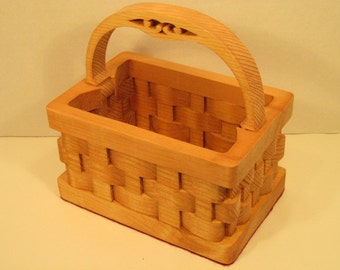 Basket with Handle Handmade