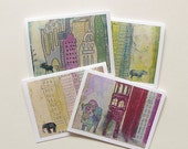 Back to the Wild - Greeting Cards - Set of 4