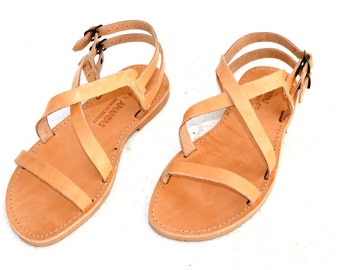 ANANIAS Greek Sandals Roman Grecian handmade leather sandals - NEW STYLE