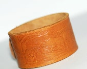 "7.5"" long, leather bracelet blank, jewelry, accessories, coolvintage, collectibles, gorgeous, looks great, unique, Nov 54"