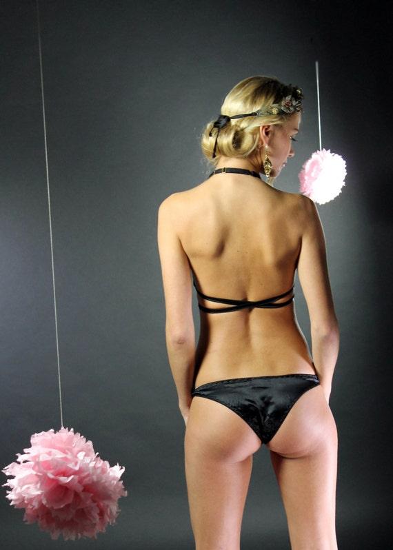 Black Silk Panties 54