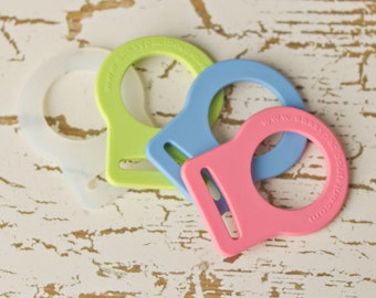 50 Mam Pacifier Adapter Button Silicone CPSIA Compliant
