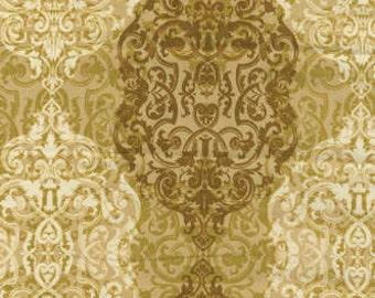 SALE  Renaissance Man from Kanvas Filigree in gold 1 yard