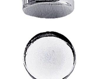 Bezel Cup Fine Silver 3mm