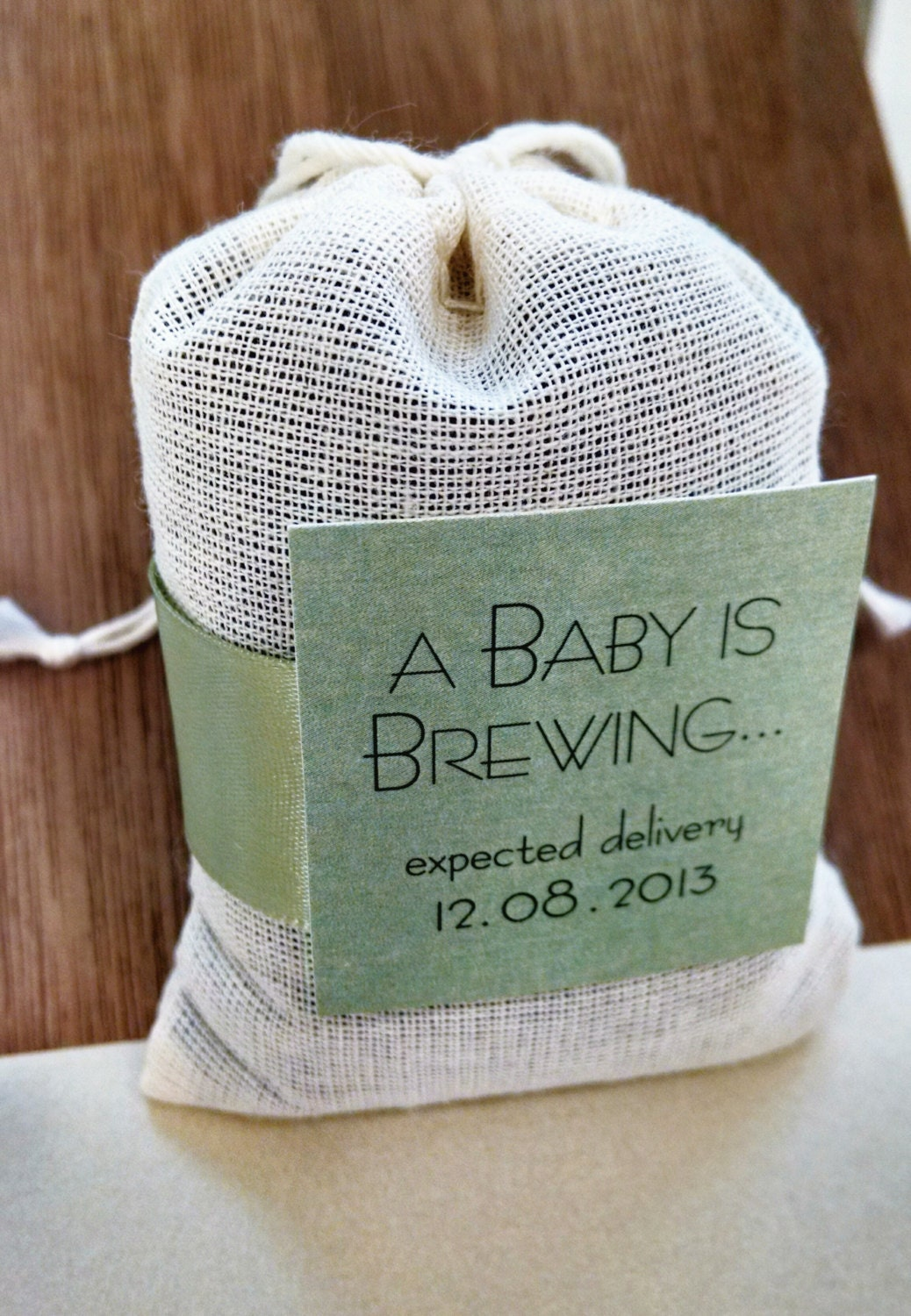 Assembled A Baby Unisex Is Brewing Tea Bag Party Favor By
