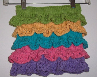 Cotton Ruffled Skirt