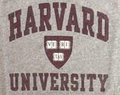 Vintage Harvard University T Shirt